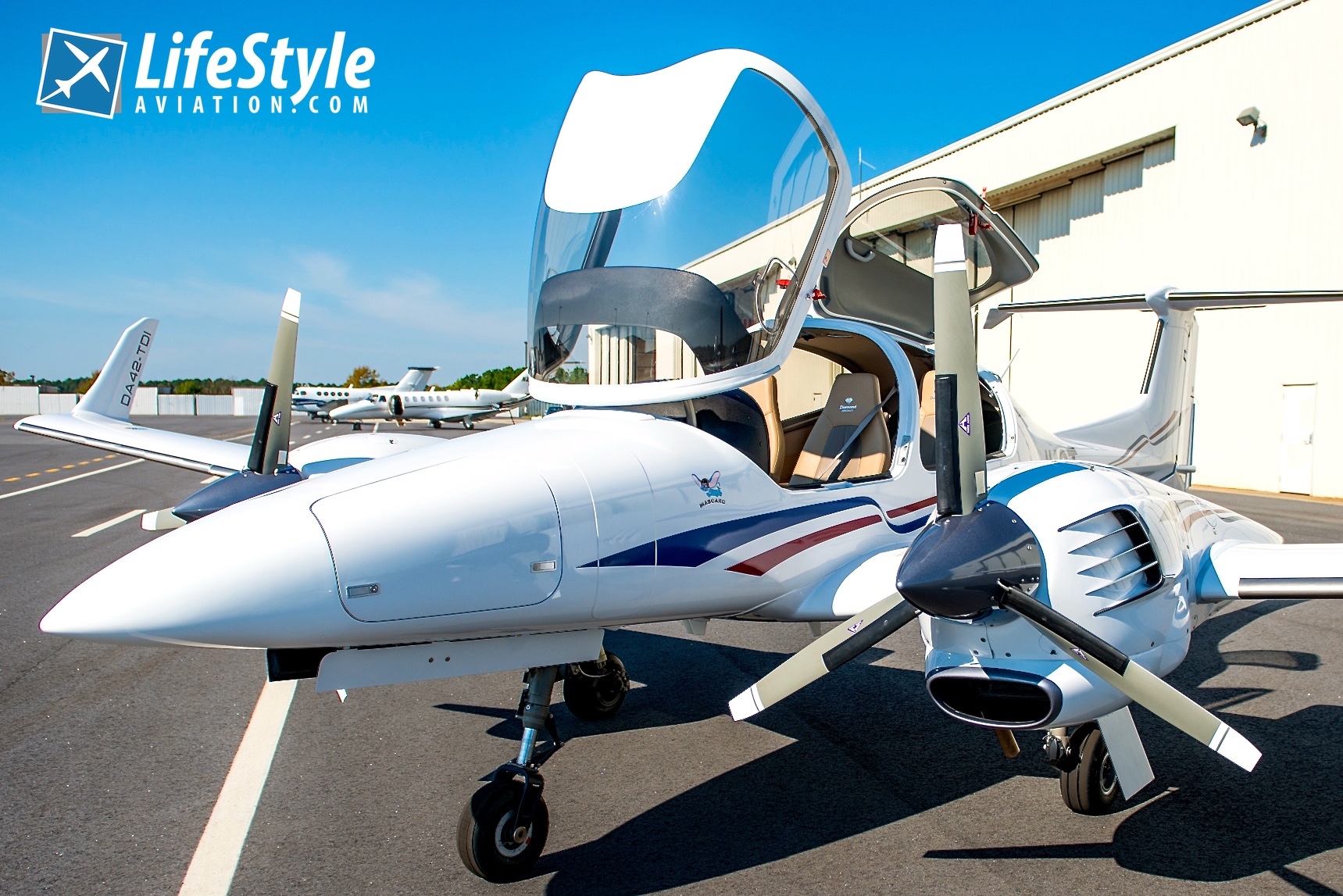 Simply the BEST Equipped DA42 TDI on the Market