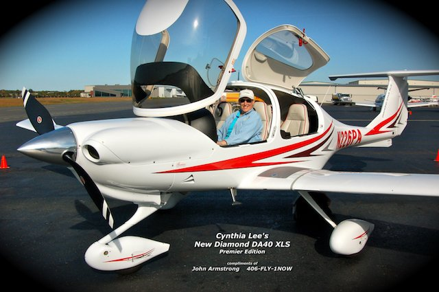 LifeStyle Aviation | DA40 in Air Race Classic Sponsored by LifeStyle