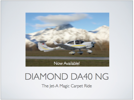 DA40 NG now available