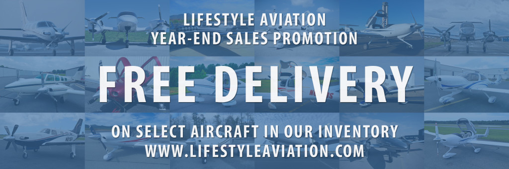 LifeStyle Aviation Year End FREE DELIVERY Sales Promotion