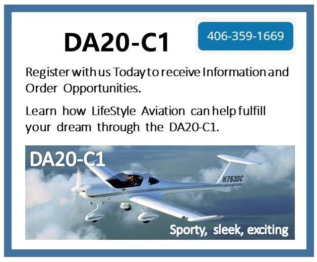 Diamond DA20-C1 - Register with Us