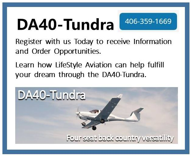 Diamond DA40-TUNDRA - Register with Us