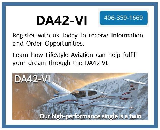 Diamond DA42-VI - Register with Us