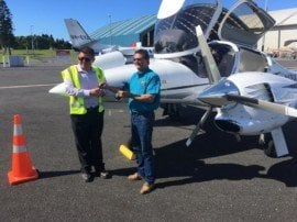LifeStyle Aviation N121TS arrives New Zealand acceptance